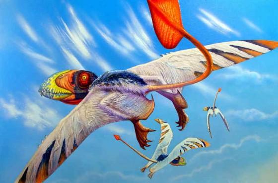 """Dimorphodon, """"reptil"""" bergigi di rahang"""