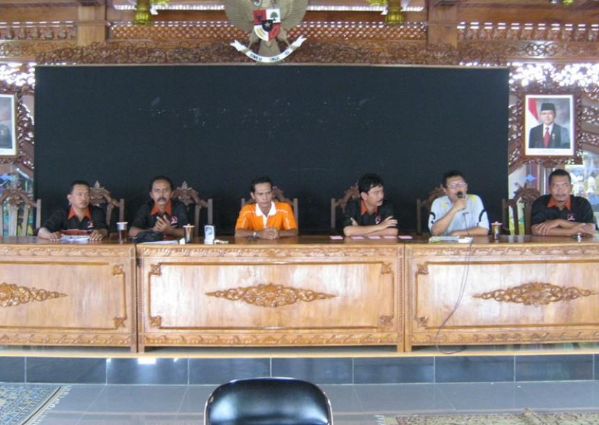 Diskusi peresmian Papburi Sukoharjo