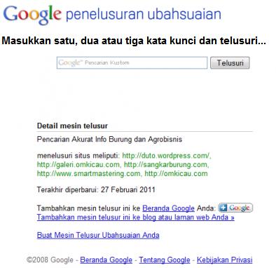 google-custome-searh-om-kicau