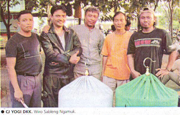 CJ Yogi dkk foto bareng seusai murai batu Wiro Sableng tampil moncer