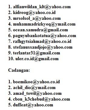 Pemenang undian komentar berhadiah Tahap II