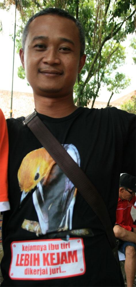 Cara protes gaya Sigit
