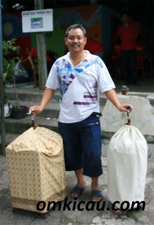Om Yuli seusai gantang GB di Kontes Papburi