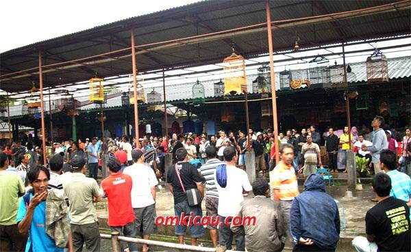 Lomba Sodo Lanang setelah pindah ke Pasar Banyu Putih