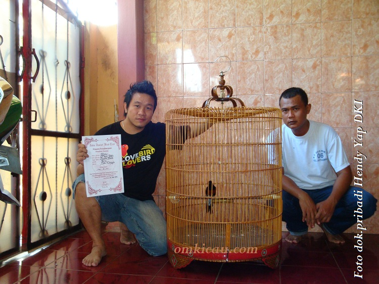 Hendy Yap DKI - kiri - Joker JBC dan perawat burung
