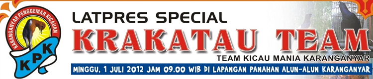 Latpres Spesial Krakatau Team