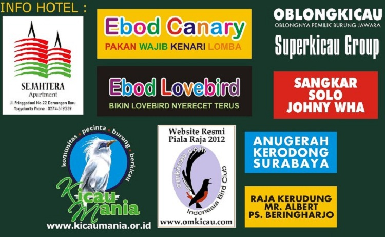 Sponsor Piala Raja 2012