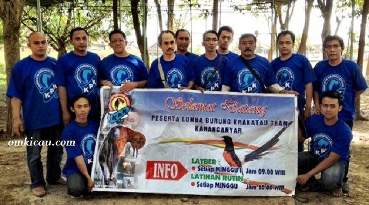Panitia Latpres Krakatau Team Karanganyar