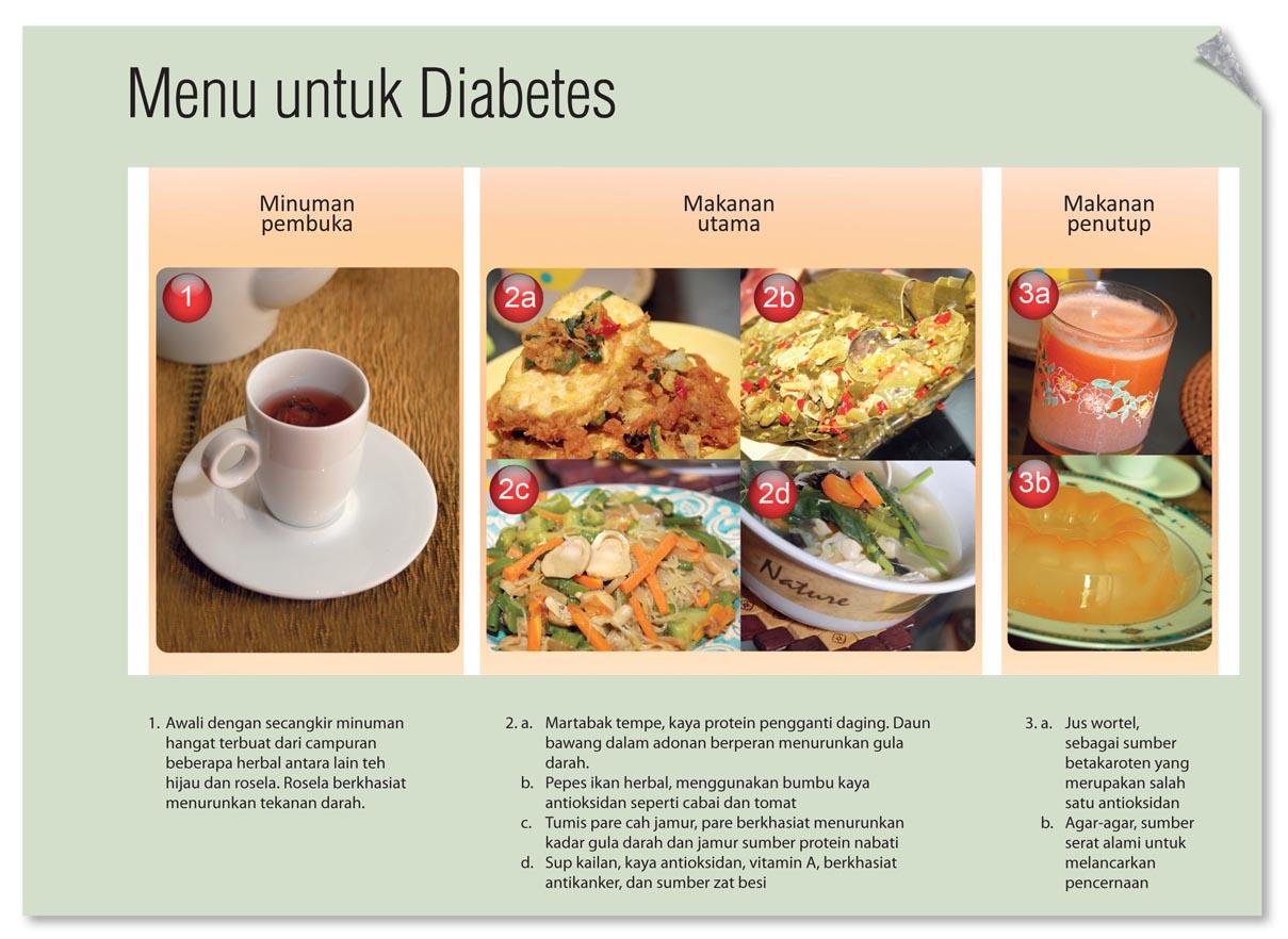 Menu untuk diabetes