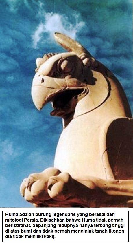 Huma adalah burung legendaris yang berasal dari mitologi Persia