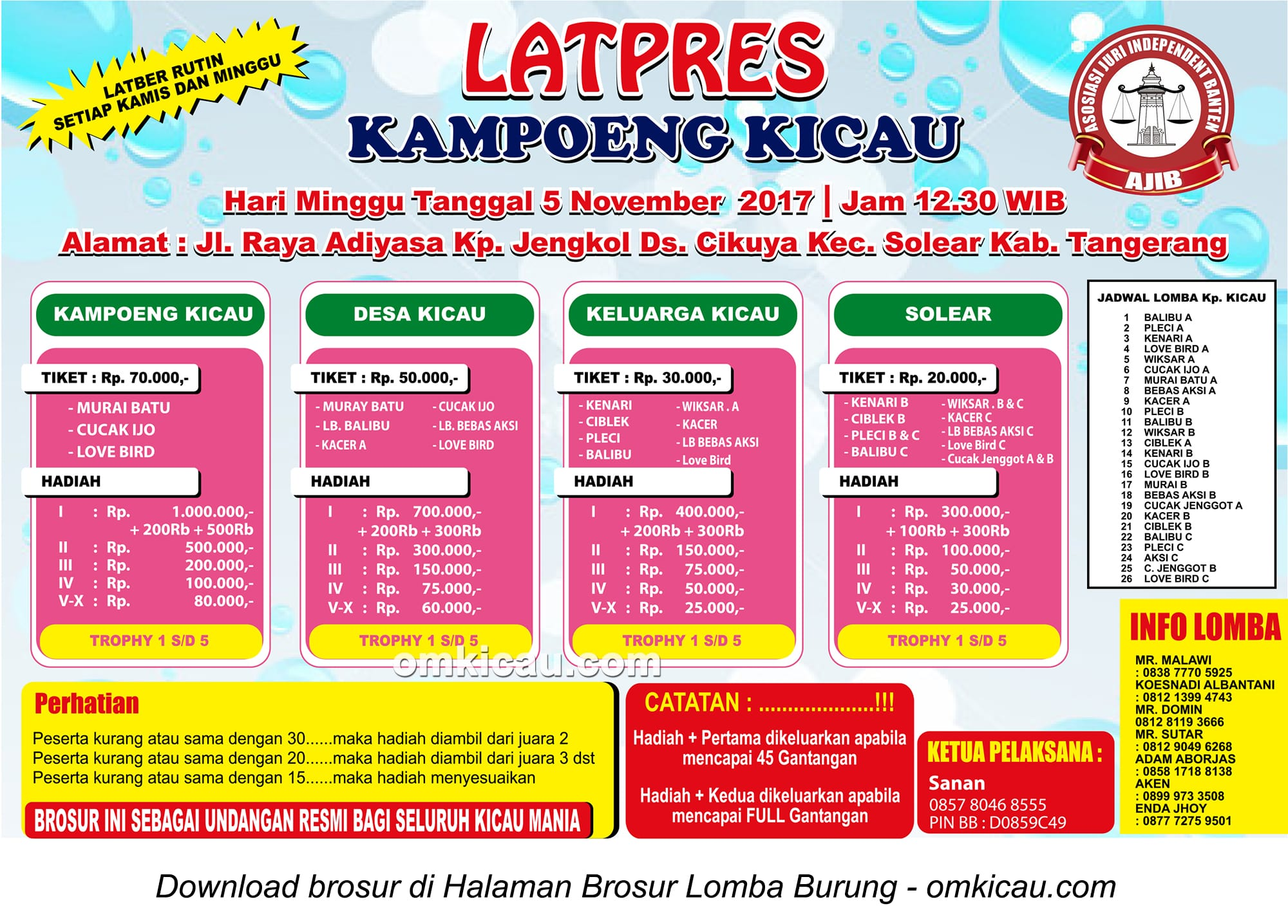 Latpres Kampoeng Kicau