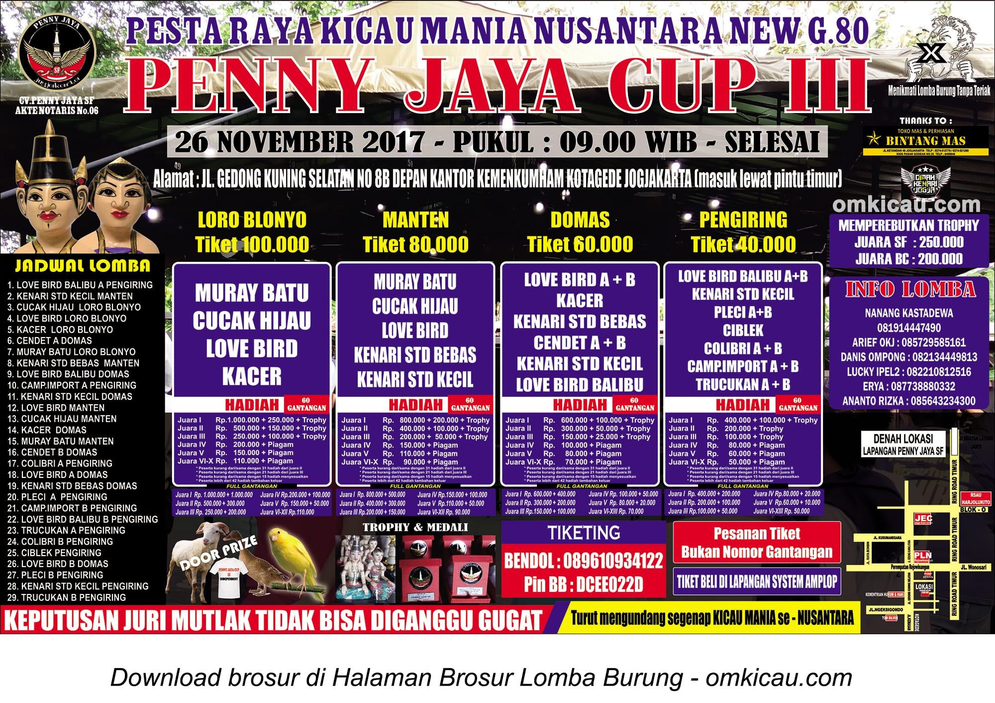 Road to Penny Jaya Cup III, Jogja