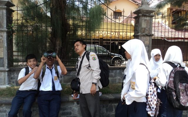 Birdwatching di Hotel Melia Purosani Jogja