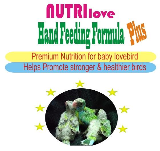 Cara Memberikan Nutri-love Hand-Feeding Formula Plus
