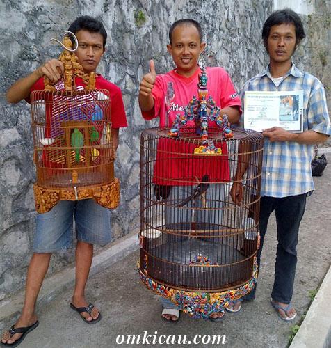 Juara Lomba Burung HUT PAKKAR Karangkobar