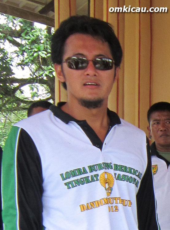 Ketua Panitia Dandim Cup Bute Joko Billion