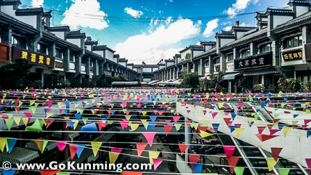 Warna-warni di Pasar Yuanbo