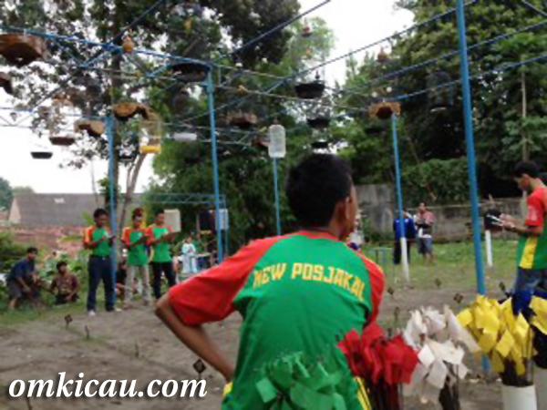 Suasana Latihan di Pos Jakal