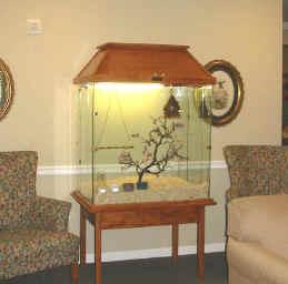 birdaviary glass house