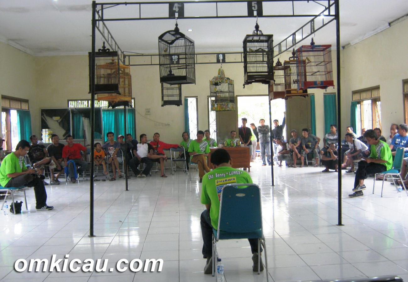 SUASANA LOMBA PAPBURI KLATEN, MINGGU (16/12).