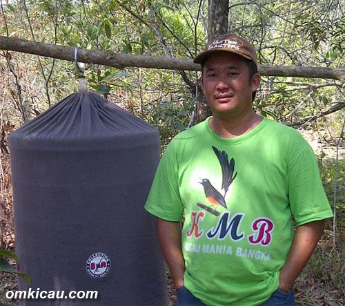 Atian dan murai Mambo mencetak double winner di HUT Bangka Selatan.