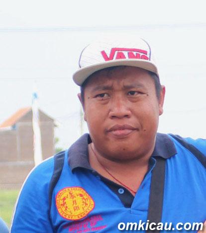 Gembrut, pengorbit kenari dari Semarang.