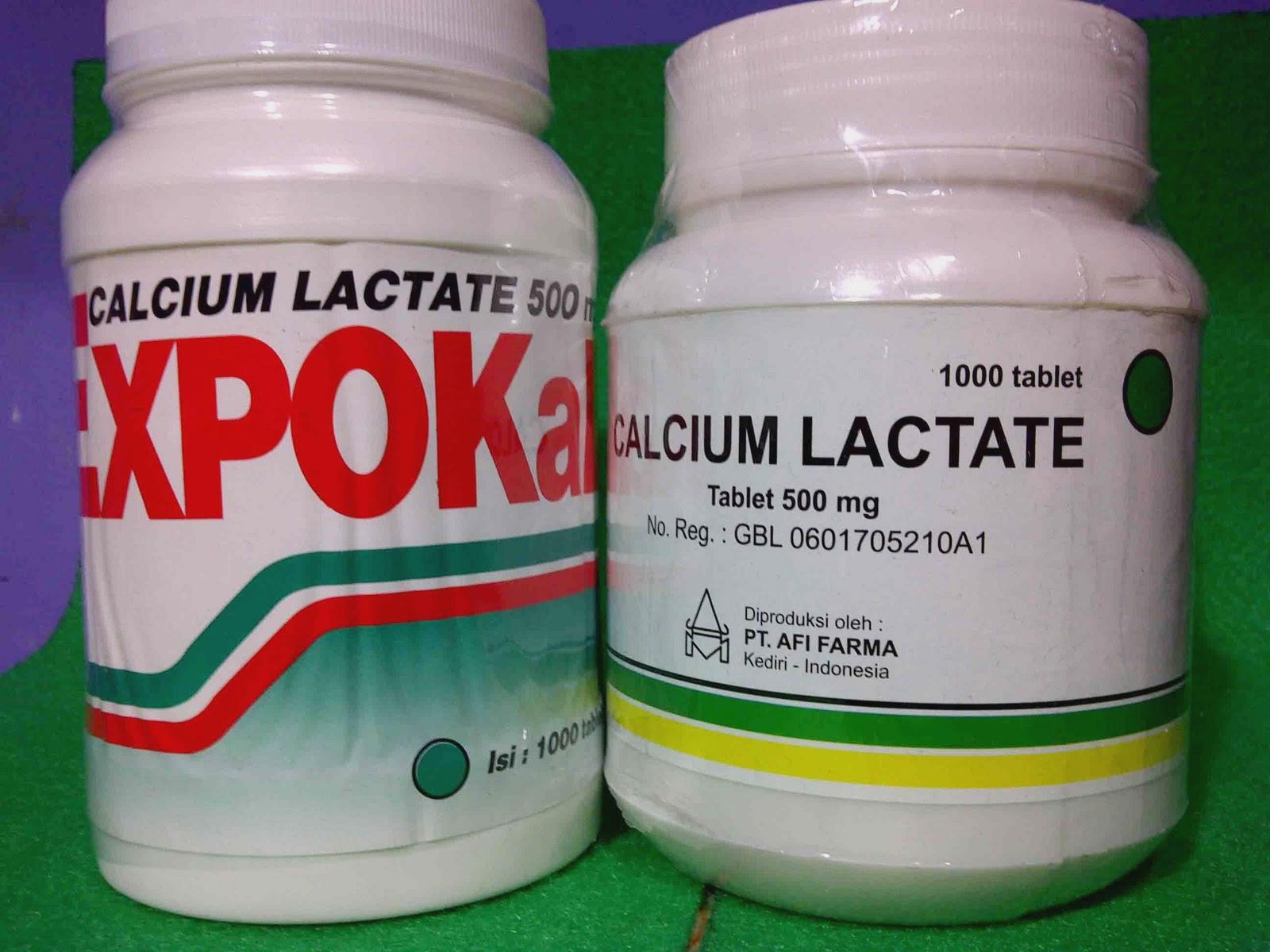 kalk / kalek / calcium lactat