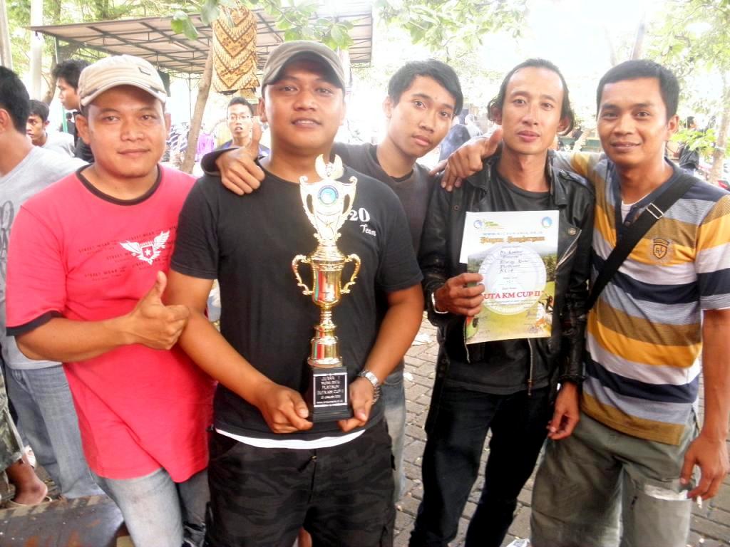 Mr Lukman dan Rizo Team sukses antarkan Maharesi juara di kelas MB Platinum (foto: kicaumania.or.id)