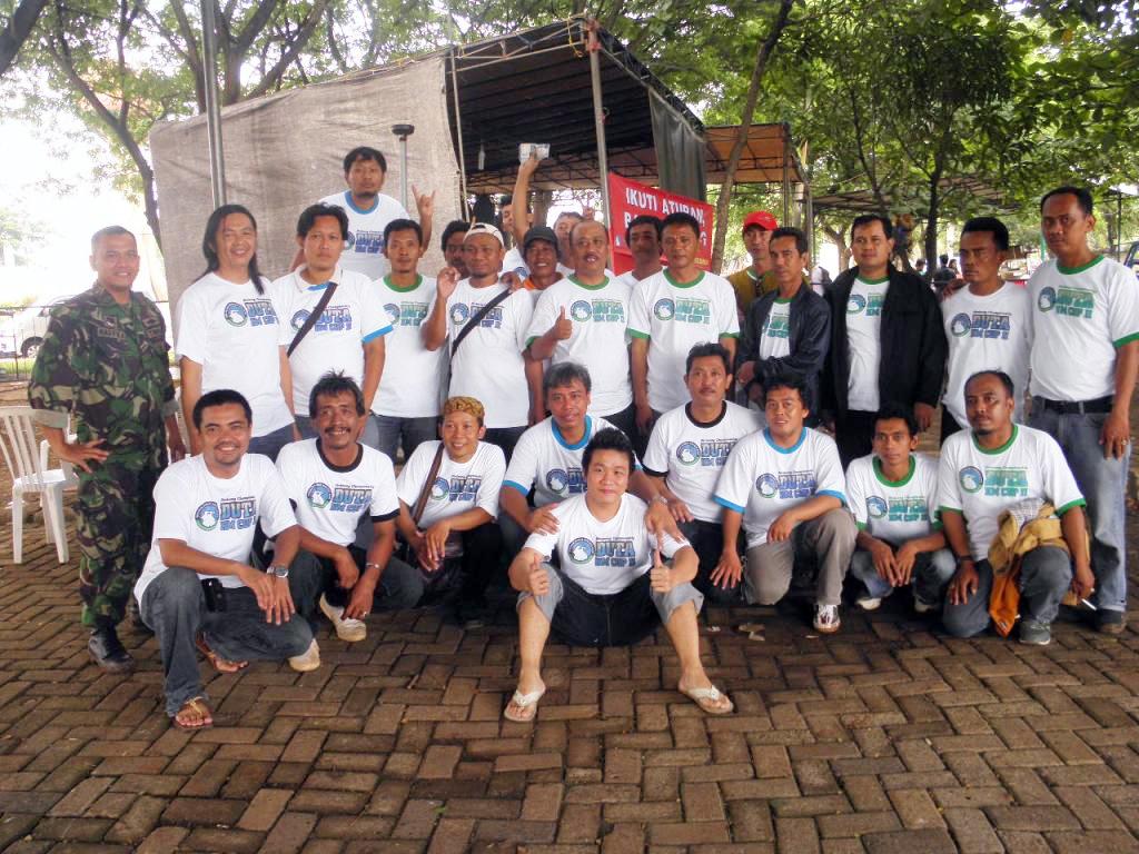 Panitia Duta KM Cup II: Membangun soliditas sejak awal perencanaan lomba (foto: kicaumania.or.id)