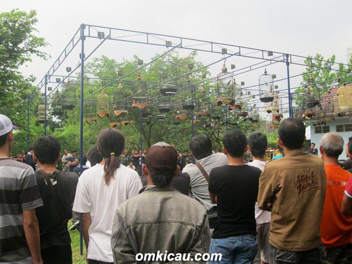 Suasana Latpres KMYK di Taman Kuliner Jogja, Sabtu (2/2).