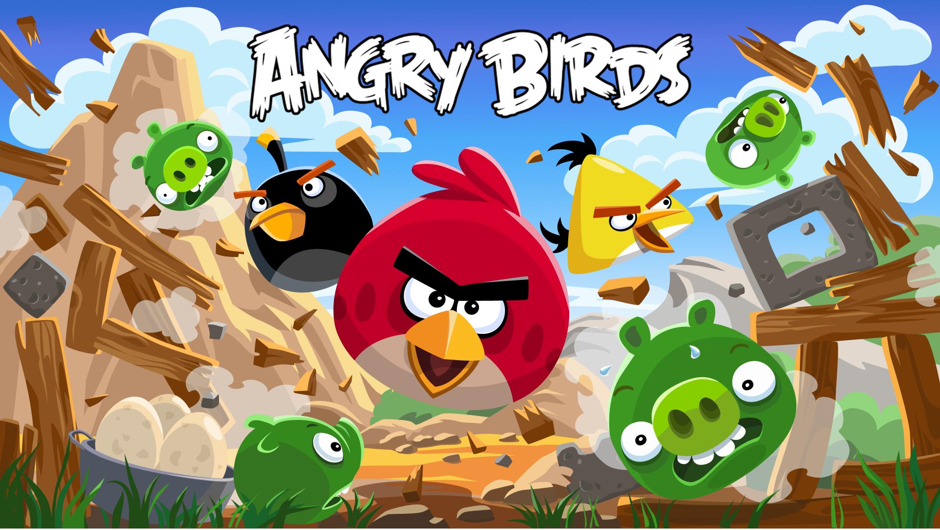 Kartun angry bird yang dikenal di kalangan anak-anak dan remaja.
