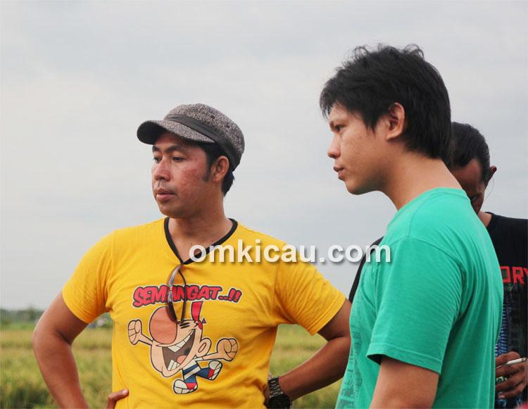 Arif Genk Euro, peserta asal Palembang.