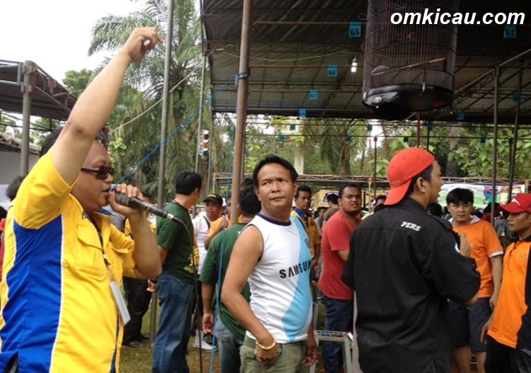 Bang Kamil mengumumkan pengulangan sesi MB BOB.