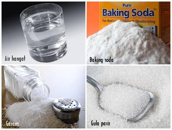Bahan yang digunakan untuk membuat cairan elektrolit