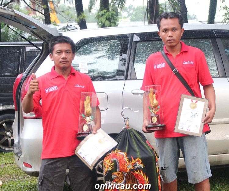Jikano dan Ratu Jagat: Sekali juara 1,sekali juara 2