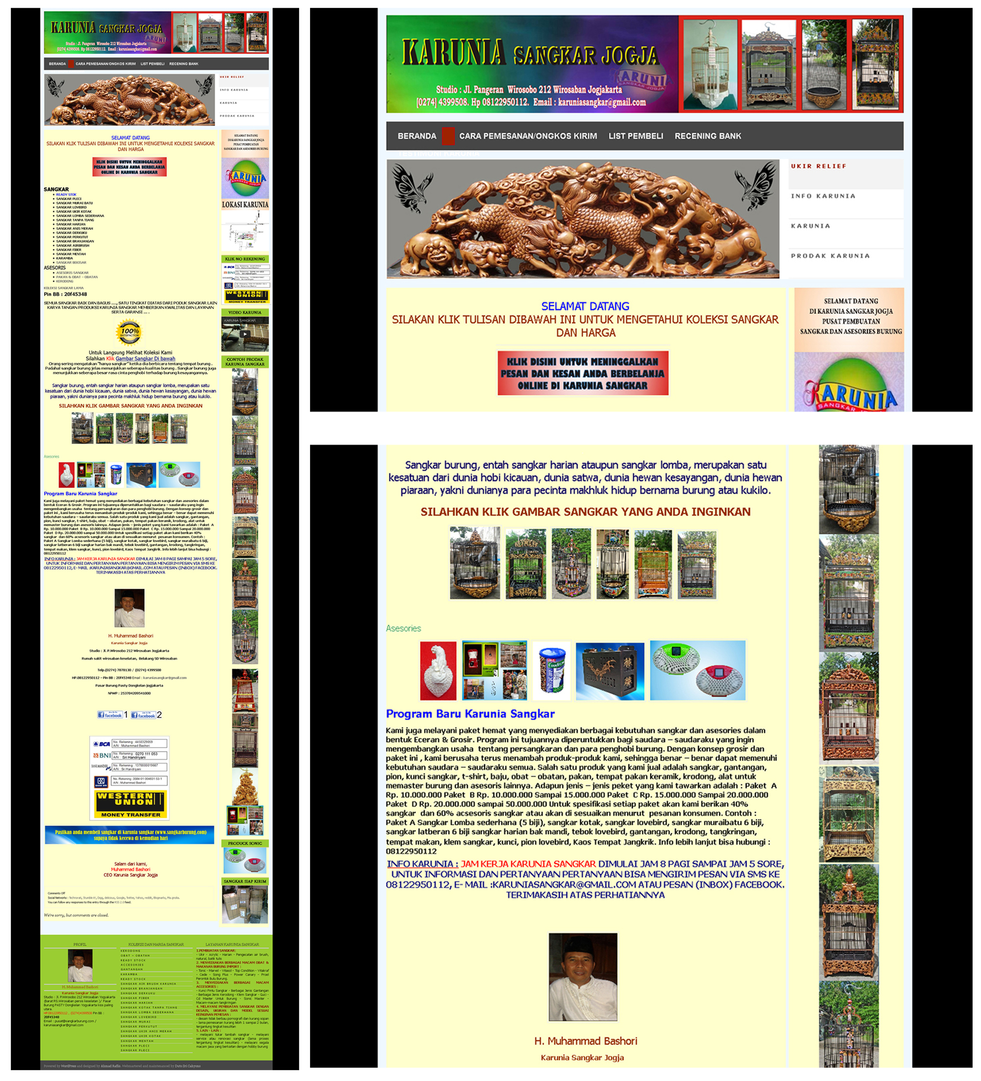 Website Sangkar Burung