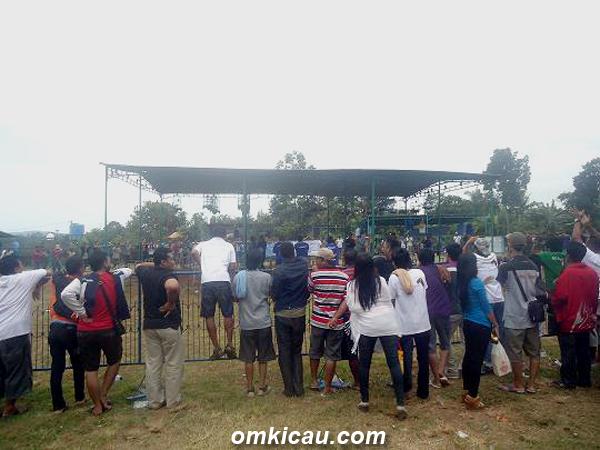 Suasana lomba BBC Ceria di Semarang, Minggu (3/3).