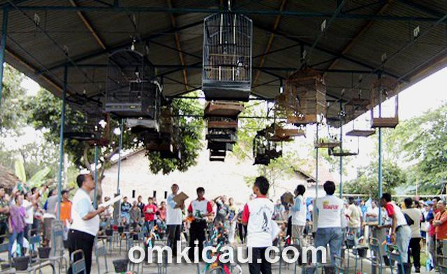 Suasana penjurian dalam Latpres Pancalaras di Bandungan.