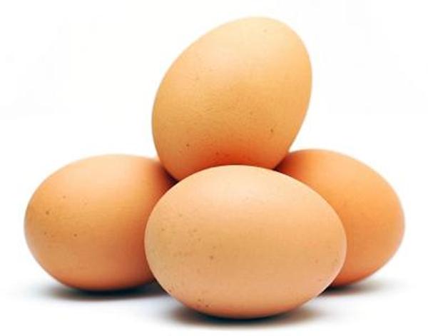 Telur ayam ras: Mudah diperoleh, harga relatif terjangkau.