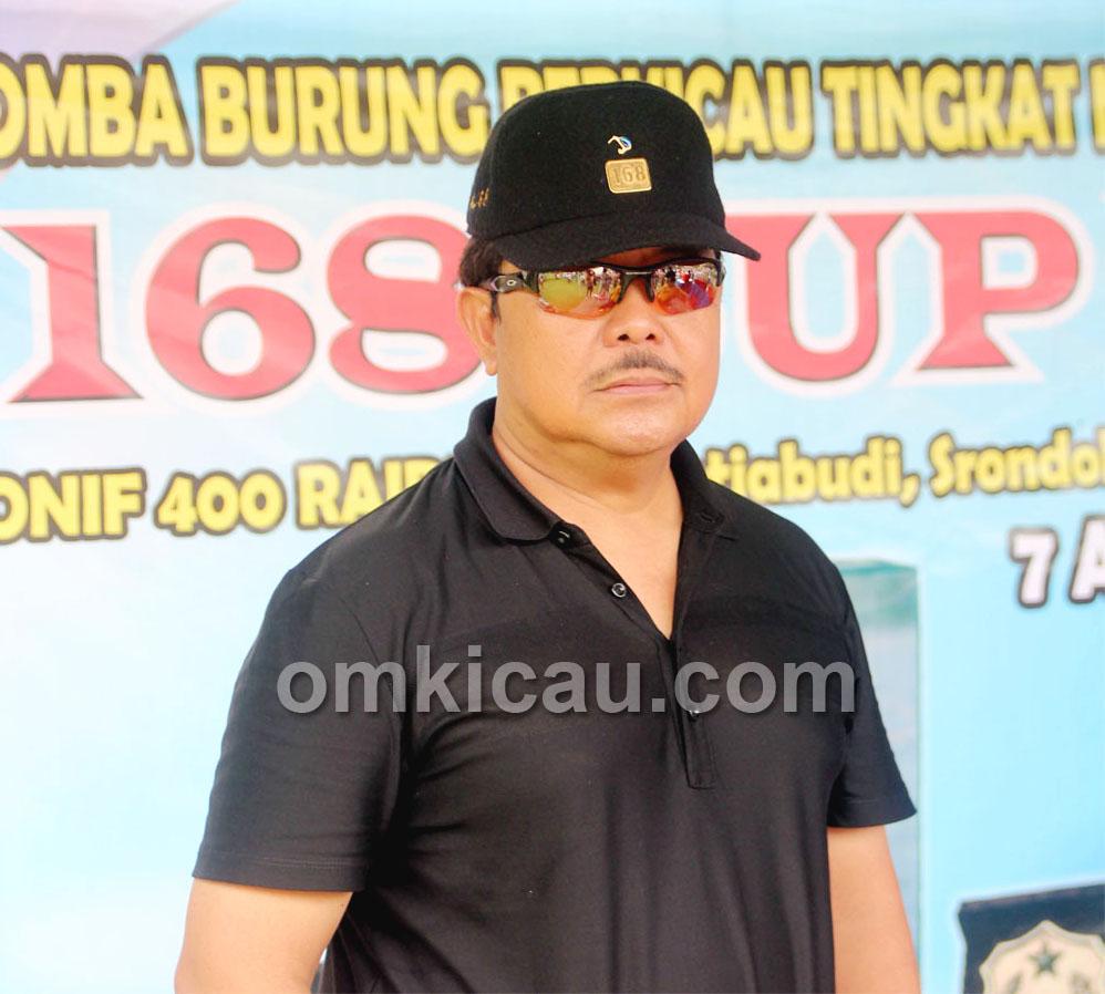 Drs Suprojo WS: Bahagia bisa mengumpulkan para kicaumania di seluruh Indonesia.