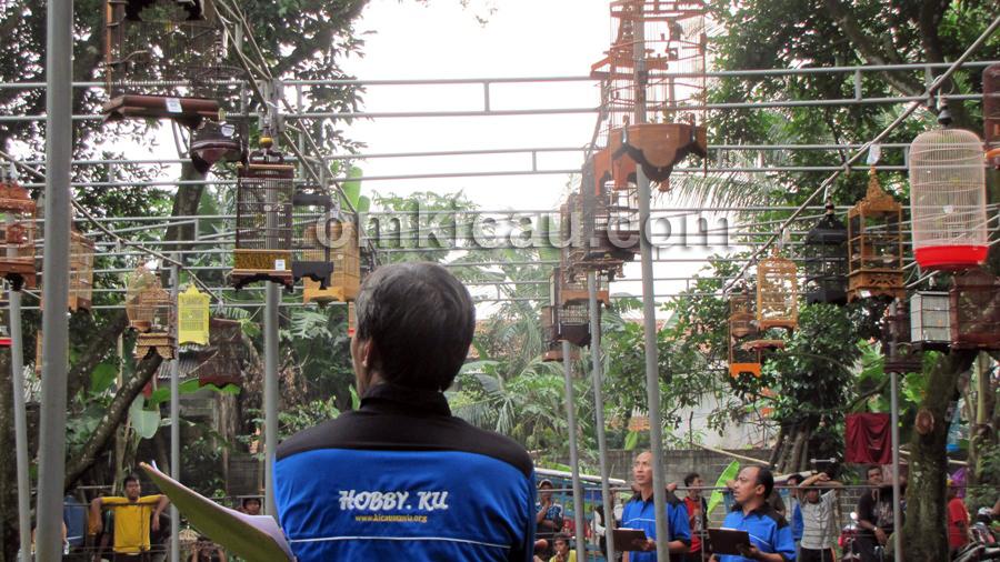 Keramaian Latber Hobbyku Kahfi Jakarta tak kalah dari even lomba.