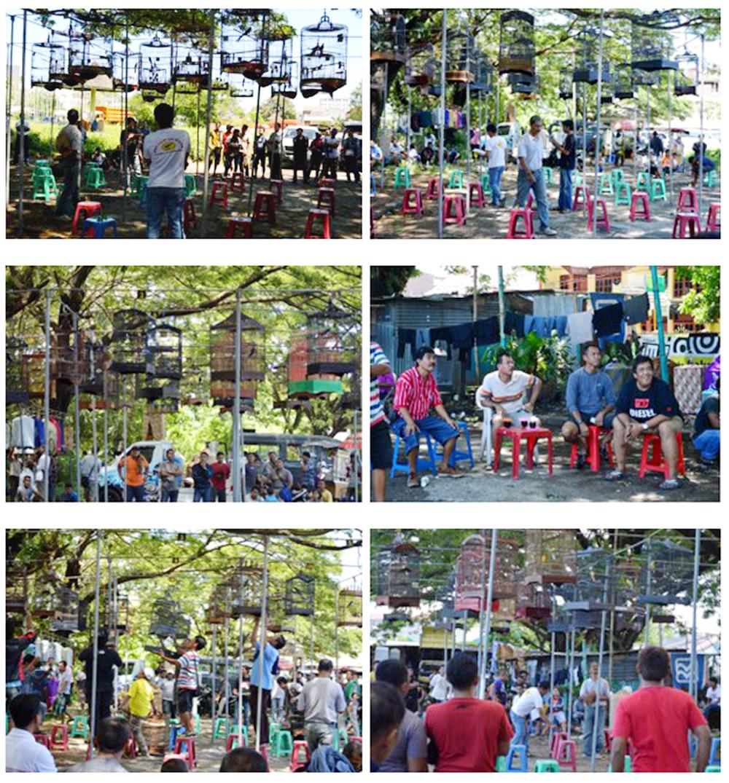 Ragam aktivitas yang terekam selama Latber Kancil BC di Makassar, Minggu (21/4).