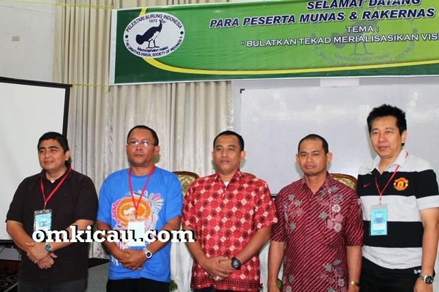 Pengurus inti Pelestari Burung Indonesia - PBI Pusat - 2013-2018