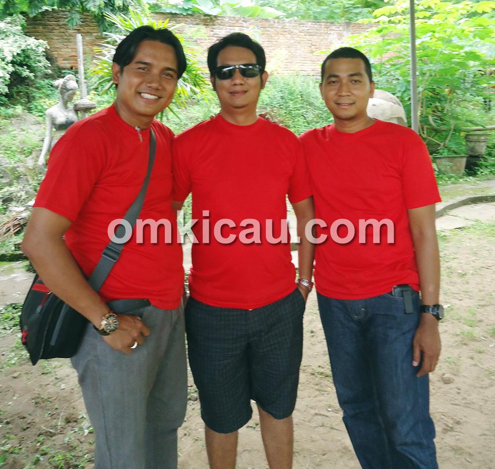 Motor Penggerak: Dari kiri, N Said, Mude (ketua BnR Jambi), dan Esco. (Foto: Kelana Lana)