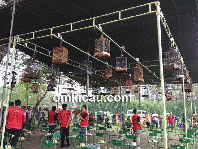 Suasana lomba IKPBS Balekambang Solo, Sabtu (30/3) lalu.