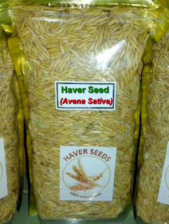 Produk biji oat / haver untuk burung.