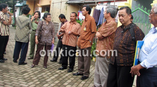 Rombongan pejabat BKSDA Jawa Barat berkunjung ke Kere Ayem BF Cileungsi, Bogor.