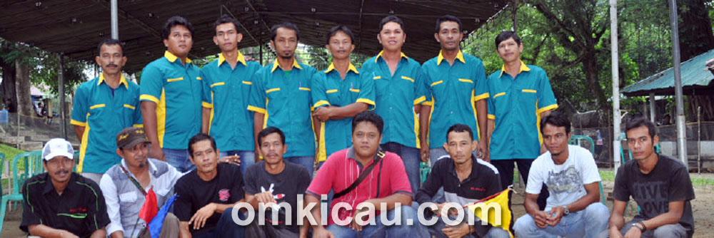 Panitia dan tim juri Kontes Lokalan Bangka.