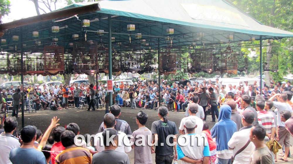 Even Rajawali S3 BC di BSD Tangerang, Minggu (5/5) diluberi peserta dan penonton.