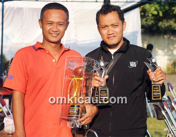 Fahmi Kobelko (kanan) dan Sigit WMP.